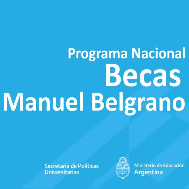 El Gobierno confirmó aumento en las becas Manuel Belgrano para universitarios
